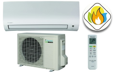 Daikin Comfora split-unit airco 2,5kW