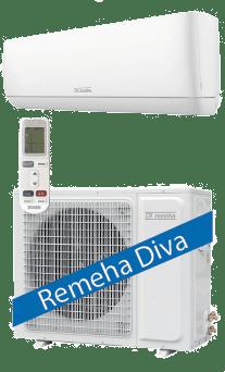 Remeha Diva airco 2,5kW